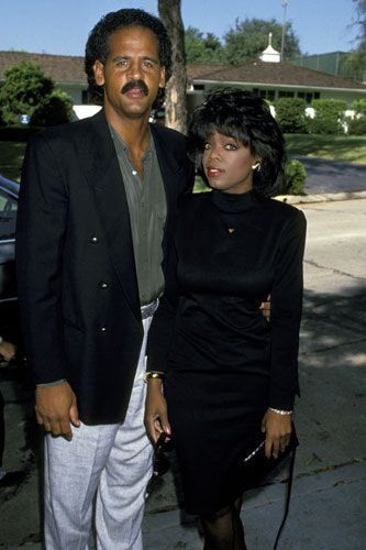 As America fell in love with Oprah, she herself fell for Stedman Graham, a once-divorced former basketball player.