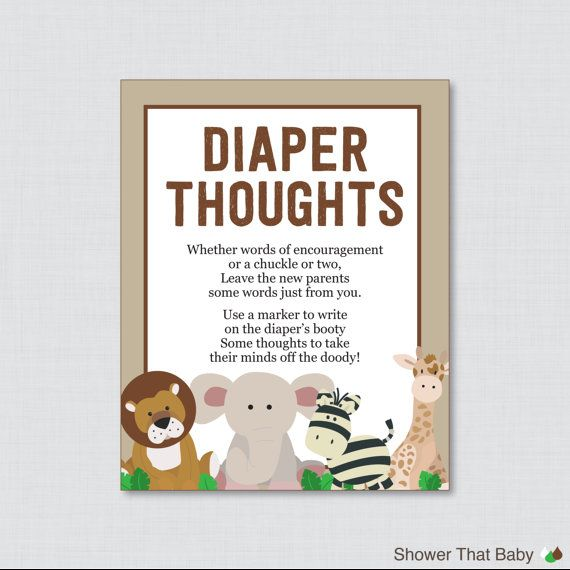 Babies, Game And Safari Baby Showers On Pinterest