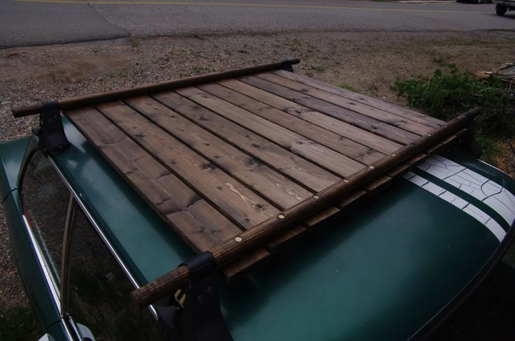 7 best Wooden Roof Rack images on Pinterest   Woodworking ...