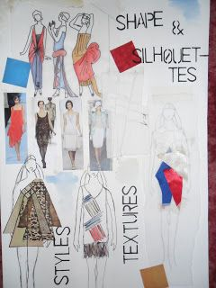 Fashion Sketchbook - the fashion design process: research board, developing themes, fashion design & realisation, context of practice