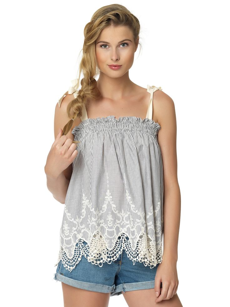 Regalinas embroidered top
