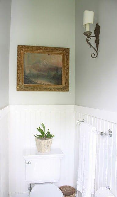 colors small bathroom half bath benjamin moore white guest bath