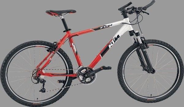 KTM Ultra Fun férfi 26-os MTB kerékpár