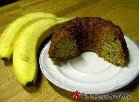 Αμερικάνικο κέικ μπανάνα