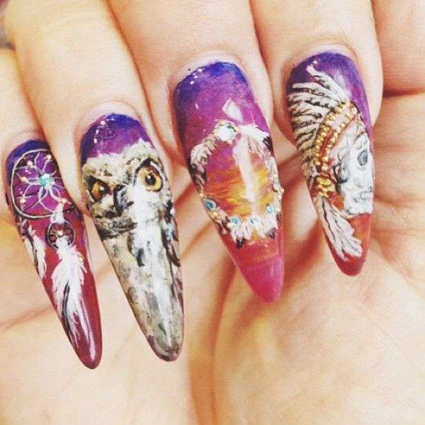 Western Nail Art: Western Nails By Vanity Projects!!!