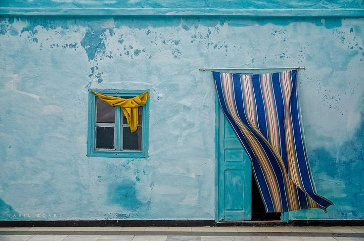 Blue - An old home in Tunisia