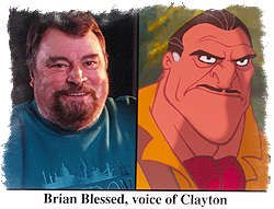 Brian Blessed - Clayton