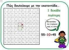 Μαθηματικά - εκμάθηση τεχνικών για αφαίρεση και πρόσθεση -webdasKALOI