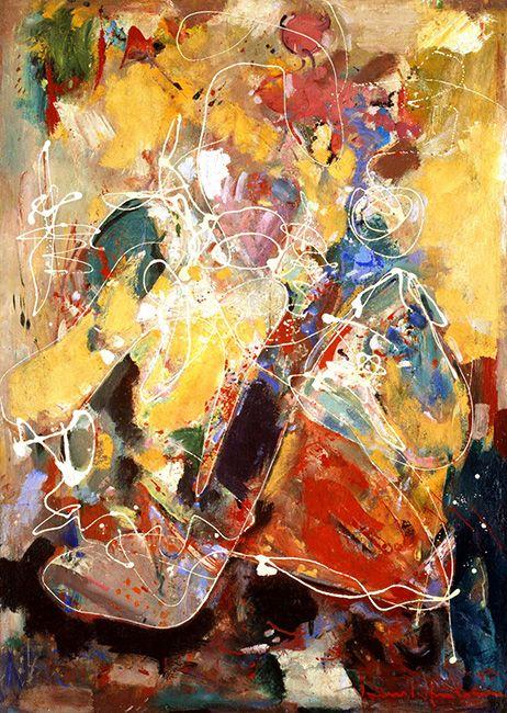 hans hoffman 'Fantasia' 1943.  Abstract Impressionism