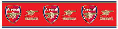 Official #licensed arsenal fc #football club wallpaper border wall decor 5 #meter, View more on the LINK: http://www.zeppy.io/product/gb/2/161261285608/
