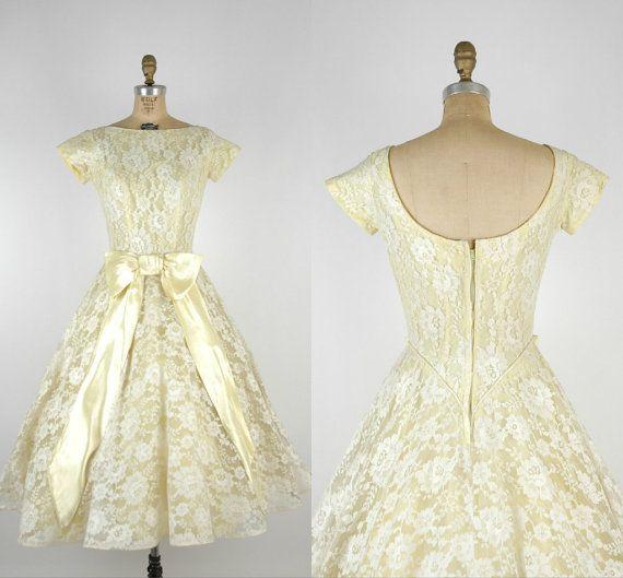 17  images about Wedding Dress on Pinterest - 50s wedding dresses ...
