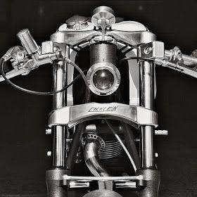Motor Fuel: Ducati 350 Cafè Racer by Christian Klein
