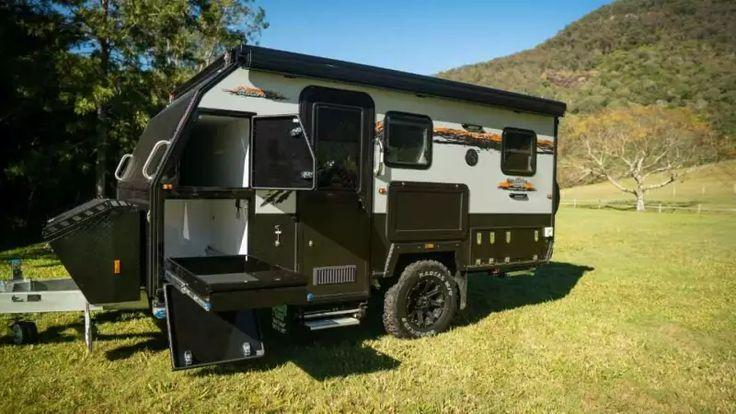 Austrack Campers Tanami 13X Hybrid offroad camper Camper