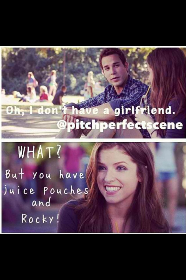 Pitch perfect! Favorite line from the movie