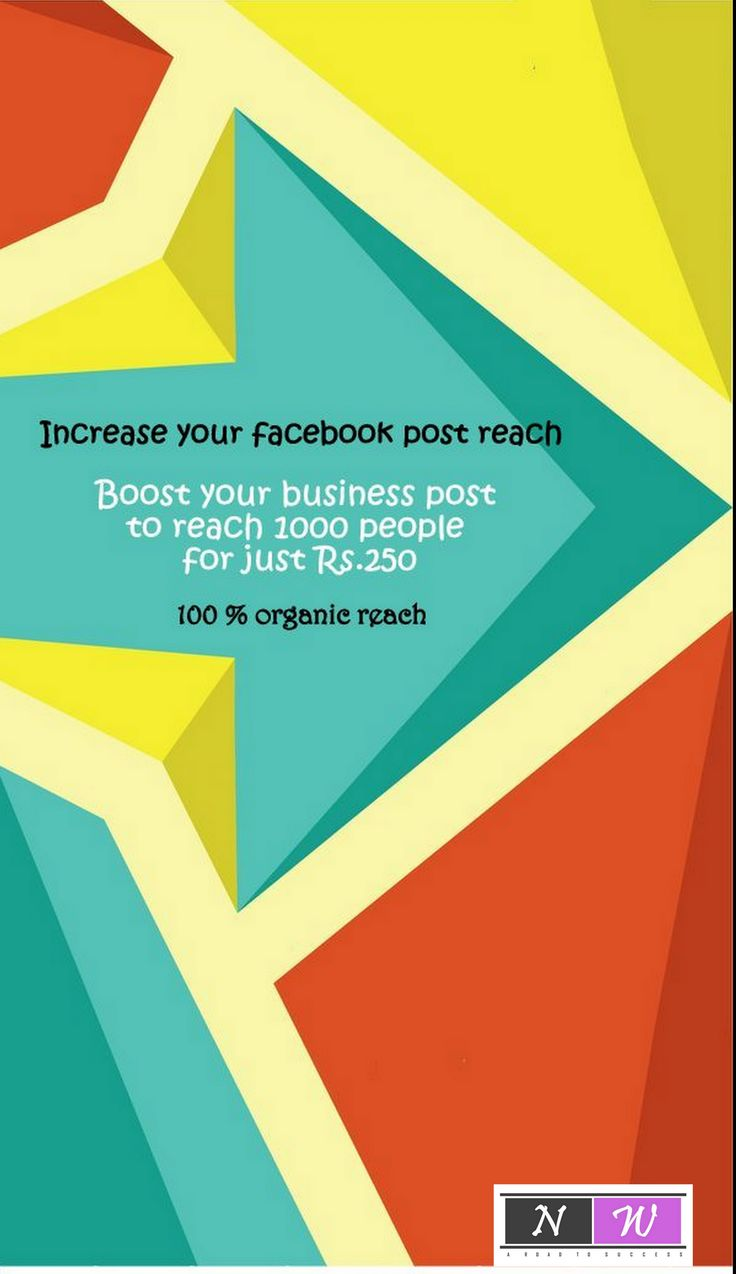 Increase your facebook post reach. Boost your business post to reach 1000 people for just Rs.250 100 % organic reach - newwaymarketingagency@gmail.com  #organicreach #facebookpost #businesspost #dailypost #newway #dailymarketing #facebookmarketing #morereach #morebusiness