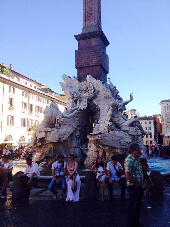 Fronte di Fontana Dei 4 Fiumi