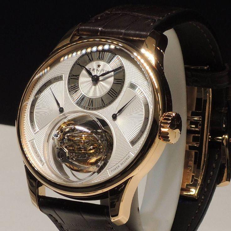 #zenith #tourbillon #vsco #lachauxdefonds #luxury #armbanduhr #wristwatch #wristporn #suisse #switzerland #basel #genf #horlogerie #watch #watches #watchmaking #schweiz #watchesofinstagram #watchaddict #watchesformen #uhr #uhren #uhrmacherei #timepiece #timepieces #rolex #patekphilippe by watchorlogerie