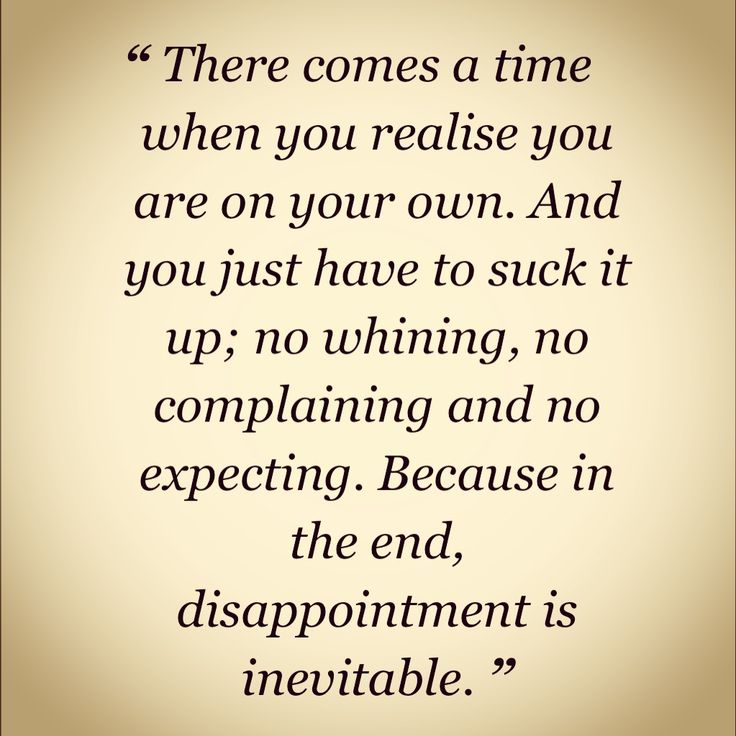 relationship disappointment sayings and quotes