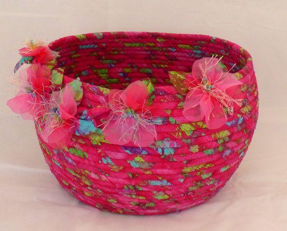 Watercolor Coleus Basket