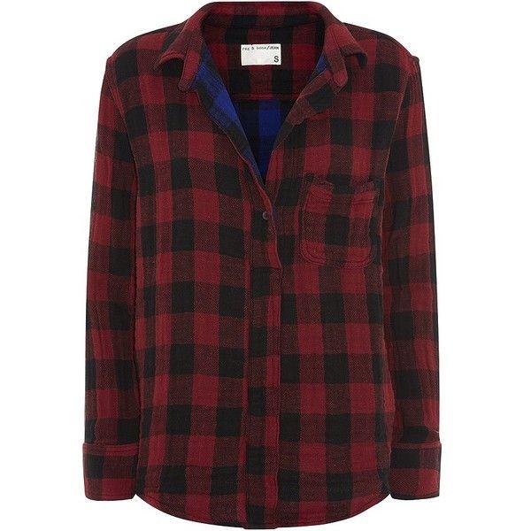 Rag & Bone Leeds Check Shirt found on Polyvore
