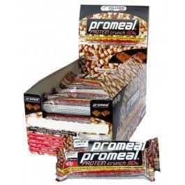 Barrette Proteiche : PROMEAL® PROTEIN CRUNCH barretta proteica non ricoperta gusto Cocco | INTENSITY STORE