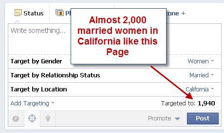 mujeres casadas en California