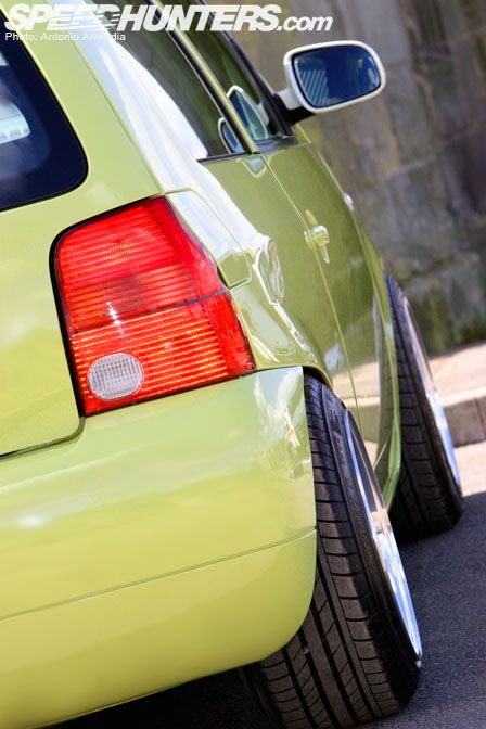 A few months ago, I visited Castle Donington to attend the UK's annual International Styling and Tuning Show. While I was scooting around with my golf cart, I couldn't help but notice this mean green Volkswagen Lupo sitting at the Max Power booth! After my unsuccessful attempts to get the phone number of the Max …
