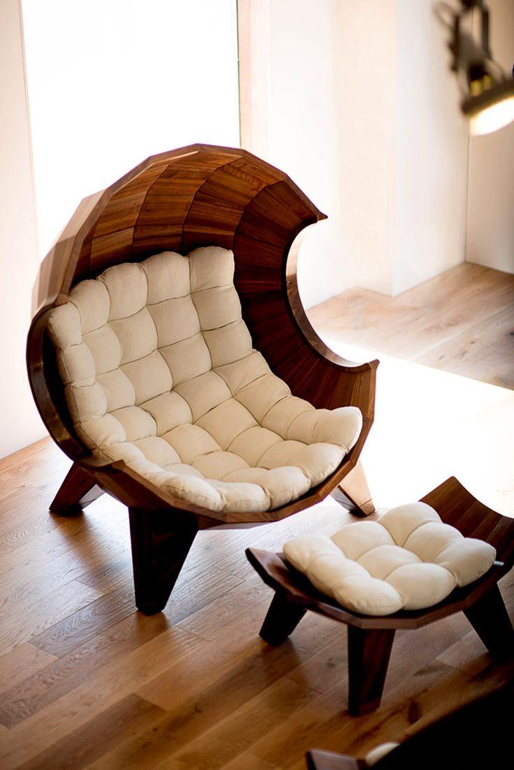 Дизайнерское кресло для отдыха #Interior #Furniture #Chair