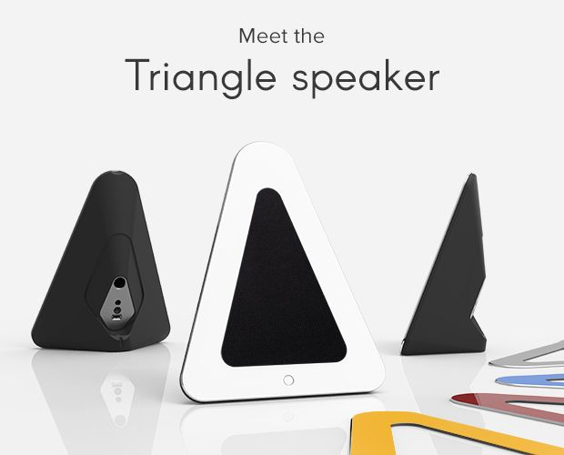 Nepsu Triangle - The Most Convenient Hi-Fi Speaker | Indiegogo