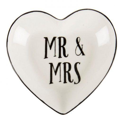 Mr & Mrs hart ringschaaltje