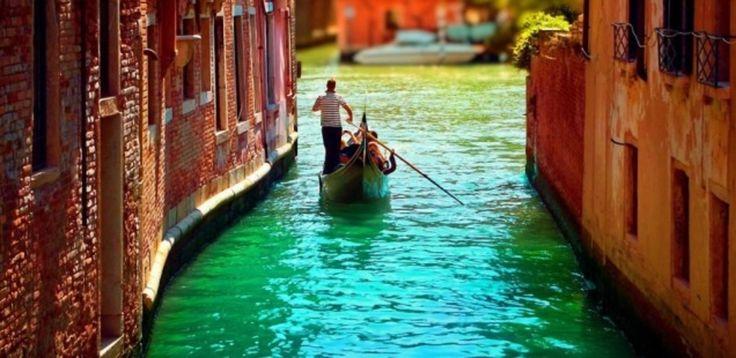 En av verdens mest romantiske byer - Venezia