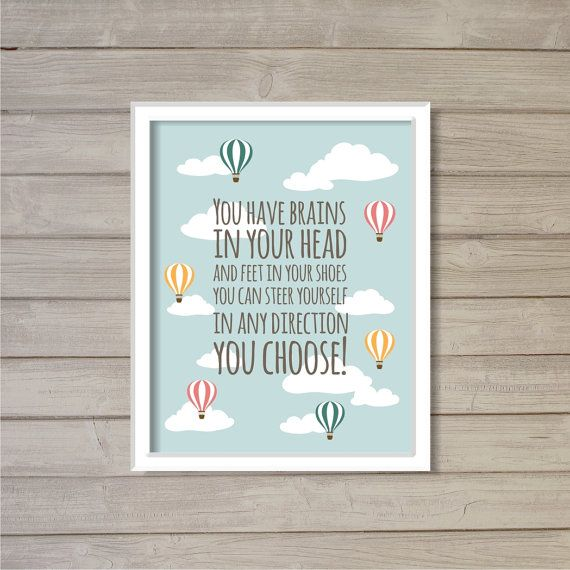 Dr Seuss Quotes Love Quotes On Canvas Original Painting 11x14: Best 25+ Hot Air Balloon Quotes Ideas On Pinterest