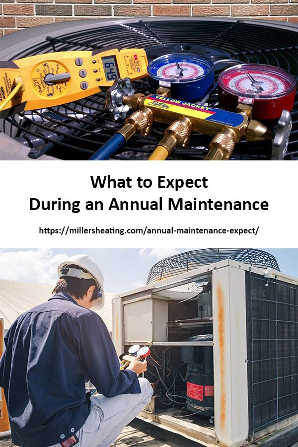 What To Expect During A Hvac Annual Maintenance Heating Cooling