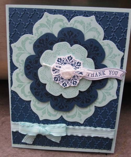 Daydream Medallions by pcgaynor - Cards and Paper Crafts at Splitcoaststampers