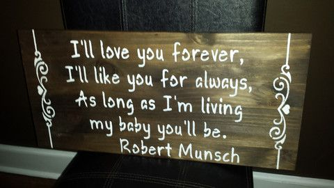 ROBERT MUNSCH SIGN – Kimber Creations