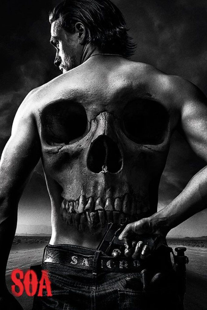 Sons of Anarchy - Jax Back - Official Poster. Official Merchandise. Size: 61cm x 91.5cm. FREE SHIPPING                                                                                                                                                                                 More