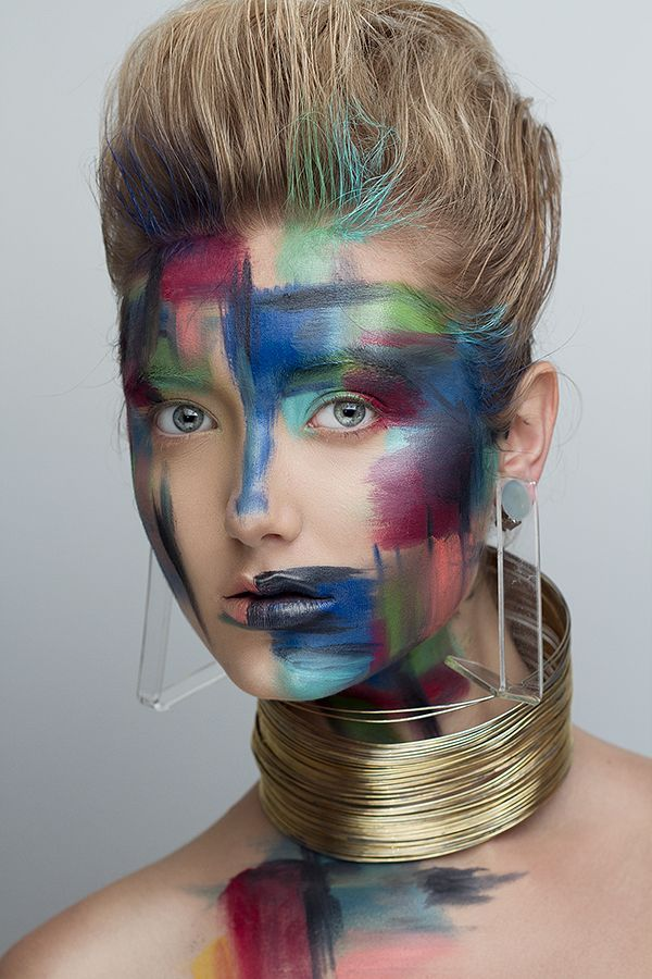 Trendy Makeup Ideas : COLOR STROKES on Makeup Arts Served