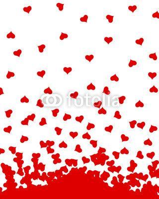 Vektor: herzen liebe valentinstag
