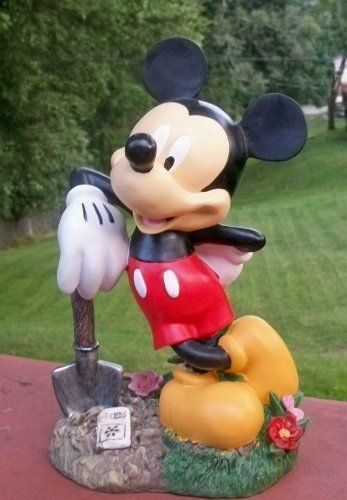 Mickey Mouse W Shovel Planting Seeds 11 5 Garden