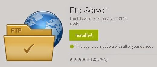 Android FTP access | Thimble CrackER Android tips and tricks