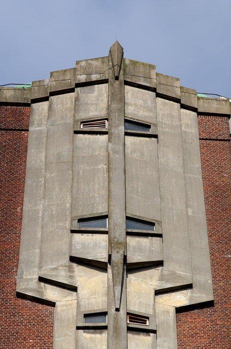H. Sangster, detail Watertoren, Aalsmeer 1926-1928