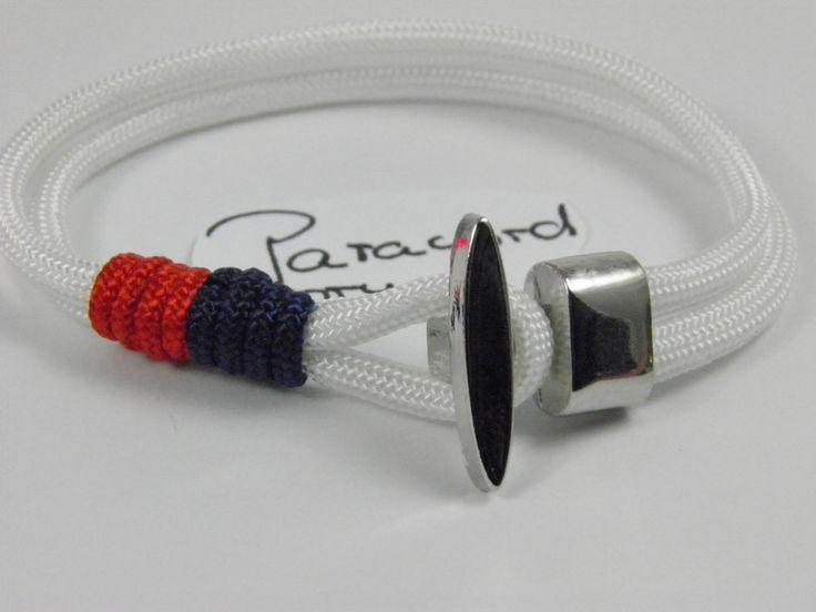 Maritimes Paracord Armband von Paracordforyou auf DaWanda.com