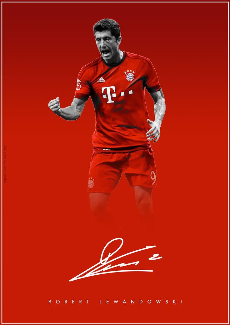 The Signature Series on Behance - Robert Lewandowski - FC Bayern Munchen