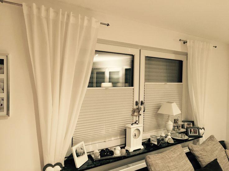 gardinenstangen am rolladenkasten befestigen home decor pinterest wohnen. Black Bedroom Furniture Sets. Home Design Ideas