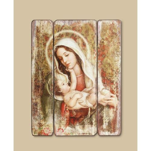 Madonna & Christ Child Wall Plaque