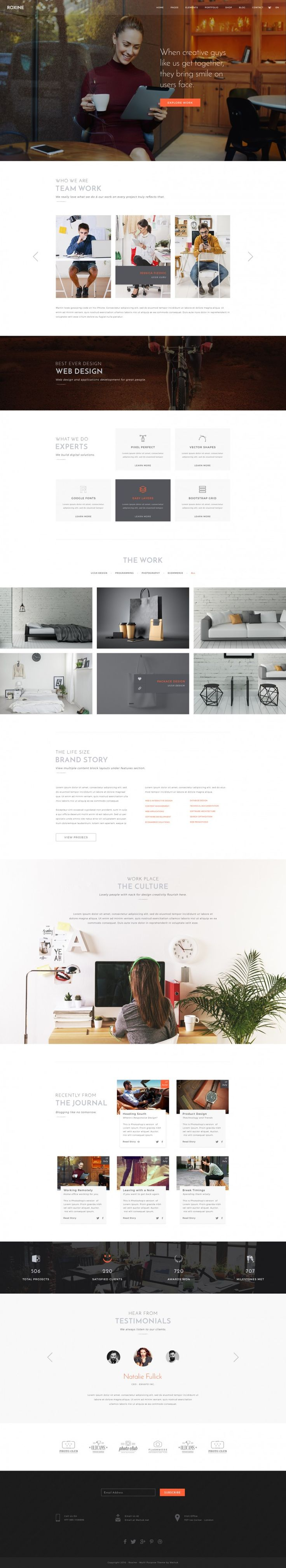 Roxine – Creative Agency on Inspirationde