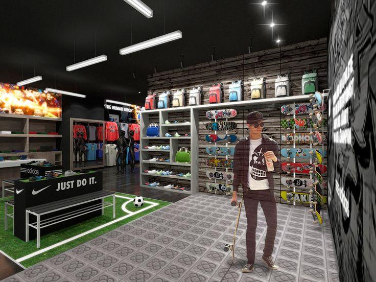 Tienda de Artículos Deportivos | Proyectos Reformas Locales Comerciales