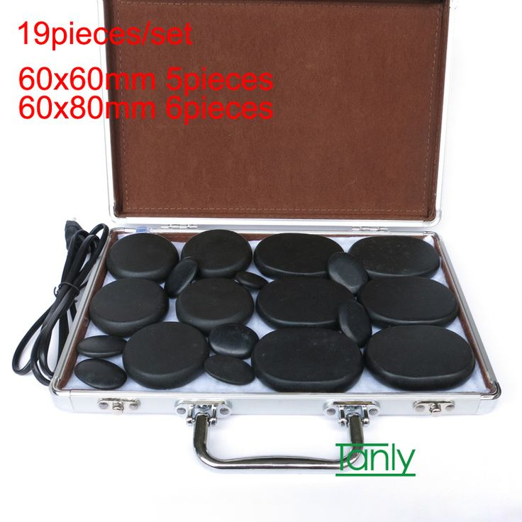 Find More Massage & Relaxation Information about 19pcs /set Massage stones massage lava Natural Energy massage stone set hot spa rock basalt stone  with heater box,High Quality Massage & Relaxation from Tanly's store on Aliexpress.com