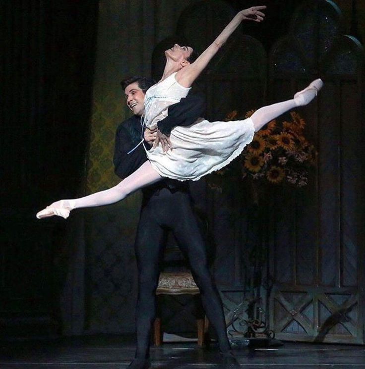 Alessandra Ferri and Roberto Bolle in Onegin. American Ballet Theatre 2017