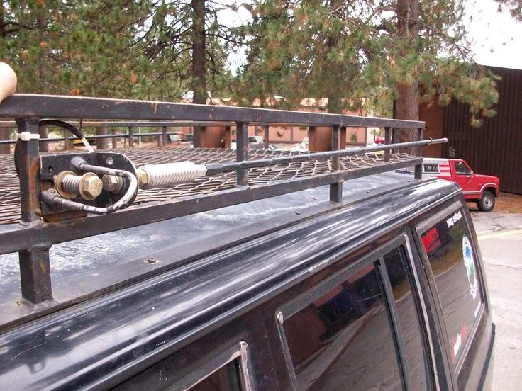 how to build a roof rack without welding